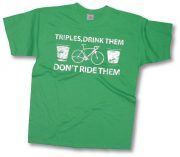 Triples don't drink them ride them (White Text)